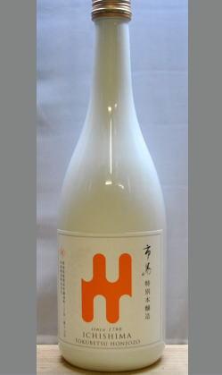 世界に向けての特別な日本酒 新潟 市島 本醸造 雫シリーズ720ml