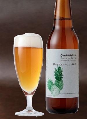 【元祖地ビールメーカー】サンクトガーレン 栓を抜いた時からパインの香りがする パイナップルエール330ml ALC5%