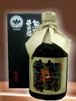 すっきりとした中にも米の旨みがあります。 尾崎酒造 純米酒 熊野曼荼羅720ml