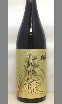高垣酒造 金賞受賞紀勢鶴大吟醸原酒1800ml