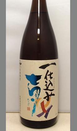 【限定品】単一原酒で造られた1年熟成芋焼酎 鹿児島 一仕込み 七夕 25度1800ml