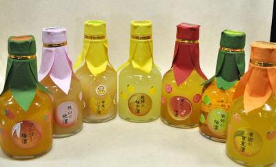 フルーツ王国和歌山を一度に味わっちゃおう! 和歌のめぐみシリーズ180ml
