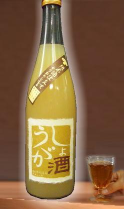 四季問わず冷え性の方必飲だよ!こりゃー温まって健康的 純米酒仕込みの「しょうが酒」720ml