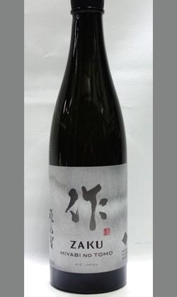 【人気急上昇 サラリと旨み際立ちフルティーな三重地酒】清水醸造 作 雅乃智純米吟醸720ml