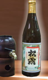 【すっきりとした口当たりで辛口の宮崎県芋焼酎】松露酒造 松露25度 720ml