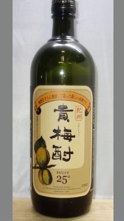 【大変珍しい和歌山らしい和歌山の梅酒の焼酎】中野BC 貴梅酎(きばいちゅう) 25度 720ml