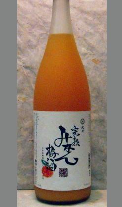 みかんゼリーに梅酒をかけているような 和歌山 中野BC 紀州 完熟みかん梅酒1800ml