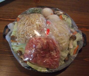 【お店の味が楽しめます。】話題の飛騨料理 鶏ちゃん焼(鉄製ジンギスカン鍋付)