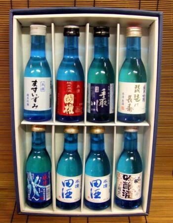 【幻の酒田酒が入っているロックから燗まで楽しめる】 地酒飲みきり8本セット