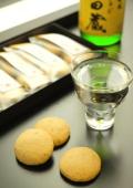 【27.11月発売 日本初?】日本酒に特化した和菓子です。 日本酒によくあう和菓子 阿吽(あうん)6入セット