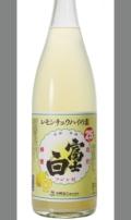 レモン果汁感たっぷりりクラフトチュウハイの素 和歌山 中野BC富士白レモンチュウハイの素1800ml