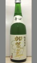 真の純米酒・・・米の旨みを感じながらもくどさも感じずどんな飲み方でも美味しく 石川 加賀鳶 極寒純米720ml