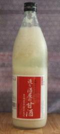 【お肌も喜ぶ・太らない甘さ・天然ビタミン・天然アミノ酸飲料】昔ながらの造り酒屋の甘酒 900ml