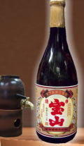 限定 まろやかで芯のある米の甘み 紅宝山25度 720ml