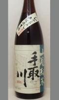 【限定】石川・蔵元に浮遊する自然の乳酸菌をつかったお酒 手取川山廃純米無濾過生詰ひやおろし1800ml