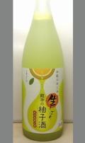 【限定】柚子ジュースになっちゃったよ柚子果汁たっぷりで爽 和歌のめぐみ生シリーズ・龍神の生しぼり柚子酒(ゆず酒)1800ml
