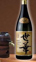 穏やかな香りで喉越しと切れの良い飲み飽きない 東酒造 世華 黒麹(よかくろ)25度1800ml