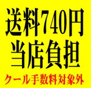 送料740円当店負担