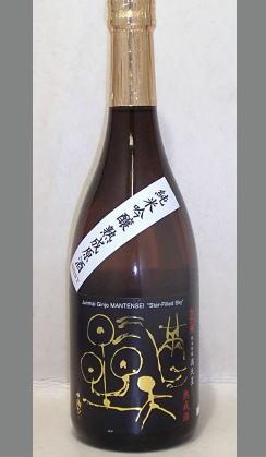 熟成ならではのしっかりとした腰折れのしない旨味と切れが良い 諏訪泉純米吟醸満天星熟成原酒720ml