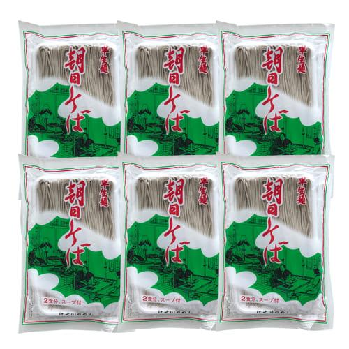 朝日そば(半生麺)[240g×6袋]めんつゆ付き