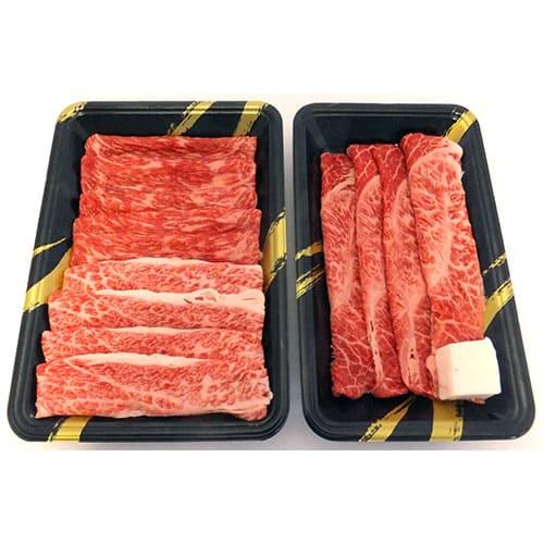 【特価品】特選山形牛[肩150g、モモ・バラ300g]すき焼き用