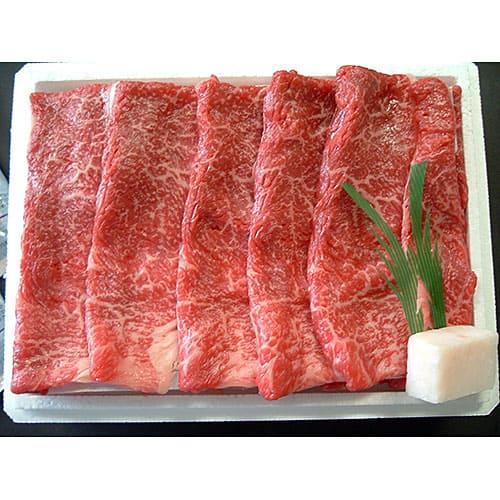 【特価品】米沢牛[モモ又は肩]すき焼用450g