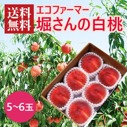 堀さんの白桃(5~6玉)