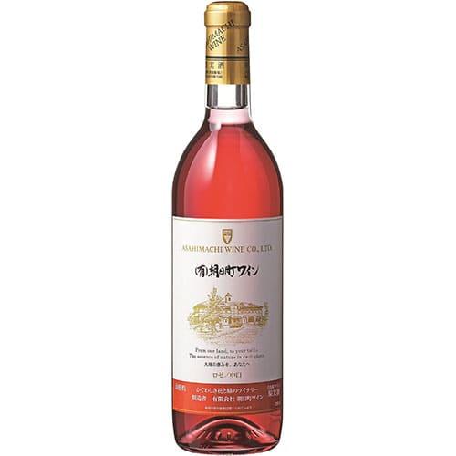 朝日町ワイン/(有)朝日町ワインロゼ720ml