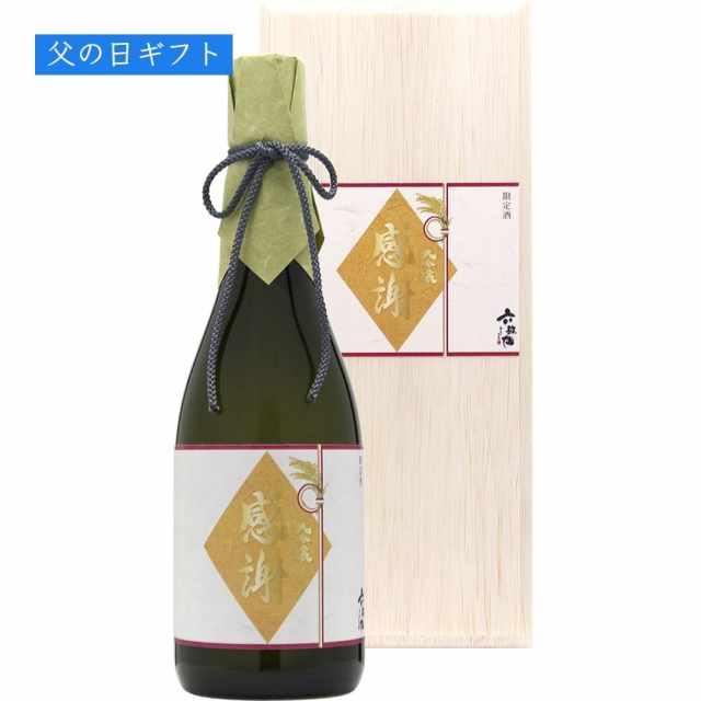 【父の日ギフト】六歌仙/大吟醸720ml(感謝ラベル)