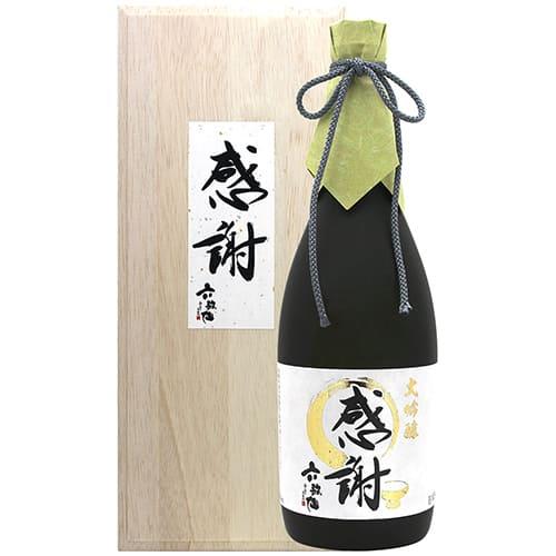 六歌仙/大吟醸『感謝』(720ml)[桐箱入り]