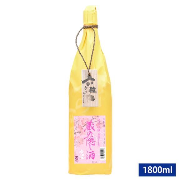 六歌仙/蔵の隠し酒純米吟醸春迎え生酒[1800ml]