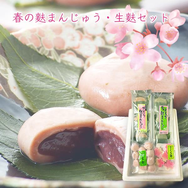 春の麩まんじゅう・生麩セット[箱入]