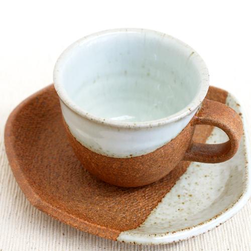 平清水焼七右エ門窯コーヒーカップ&ソーサー