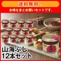 【送料無料】山海ぶし12本セット
