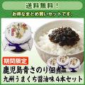 【期間限定・送料無料】鹿児島青さのり佃煮 九州うまくち醤油味95g 4本セット