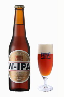 箕面(みのお)ビール W-IPA 330ml瓶 クール便
