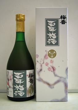 水戸の梅酒 「梅香 百年梅酒」 720mL