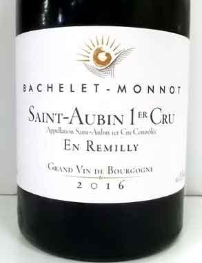バシュレ・モノ サン・トーバン プルミエ・クリュ アン・ルミリー ブルゴーニュ産白ワイン Bachelet-Monnot