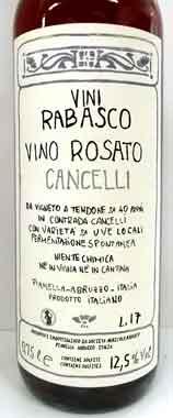 ラバスコ ロザート・カンチェリ イタリア産ロゼワイン SO2無添加 クール便