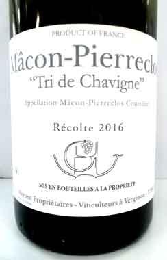 ドメーヌ・ギュファンス・エナン マコン・ピエールクロ トリ・ド・シャヴィーニュ フランス産白ワイン