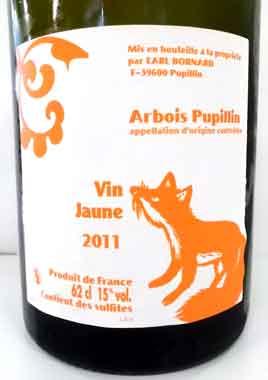 ボールナール アルボワ・ピュピラン ヴァン・ジョーヌ 2011 フランス産白ワイン