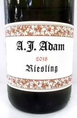 アダム リースリング・トロッケン ドイツ産白ワイン adam