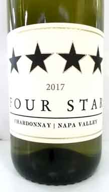 フォー・スター ナパ・ヴァレー シャルドネ カリフォルニア産白ワイン