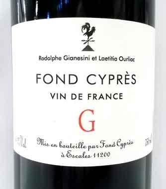 フォン・シプレ G SO2無添加 フランス産赤ワイン クール便