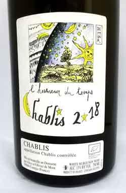 アリス・エ・オリヴィエ・ド・ムール  シャブリ ユムール・デュ・タン フランス産白ワイン