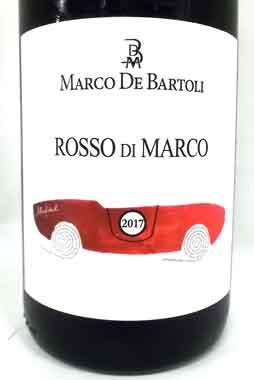 デ・バルトリ ロッソ・ディ・マルコ イタリア産赤ワイン