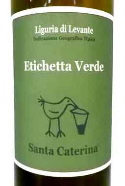 サンタ・カテリーナ エチケッタ ヴェルデ (ヴェルメンティーノ) イタリア産白ワイン