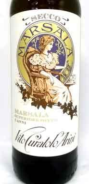 マルサラ酒 バーリョ・クラトロ・アリーニ マルサラ・スーペリオーレ・セッコ
