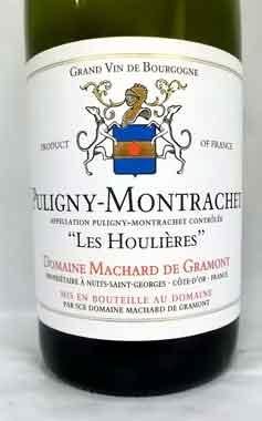 マシャール・ド・グラモン ピュリニー・モンラッシェ 2019   フランス産白ワイン