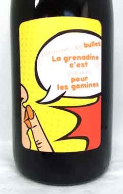 ドメーヌ・ド・ラ・コンブ・オー・レーヴ ラ・グルナディーヌ フランス産 発泡性ロゼワイン SO2無添加クール便